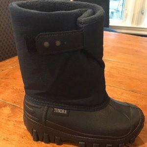 Boys Tundra Boots, Size 10